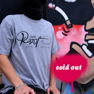 RAZOR-T-Shirt-Grey-Teaser-sold-out