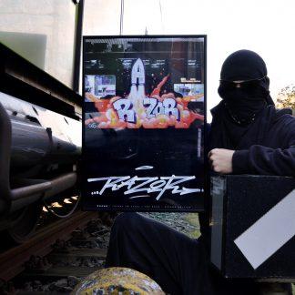 "Poster-""RAZOR-Rocket"""