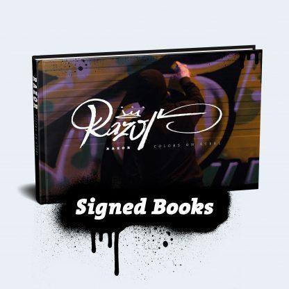 signed-second-edition-RAZOR-Graffiti